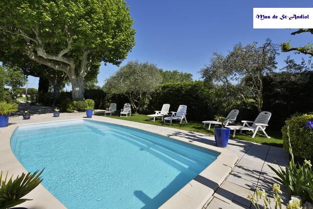 LES GLYCINES - N° 280417-piscine