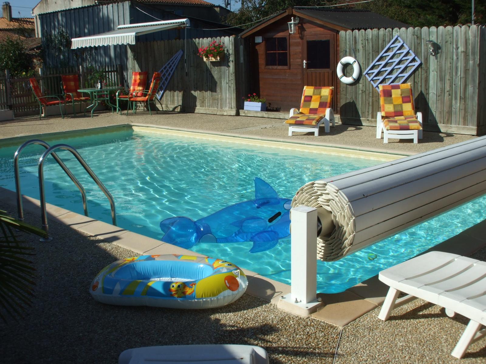GITE DE L'ANDOUSSIERE 9 PERS.-piscine-privee-chauffee