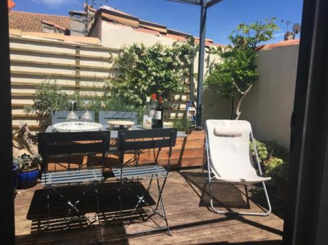 Maison avec terrasse à Arles, Provence-Maison-avec-terrasse-a-Arles-Provence