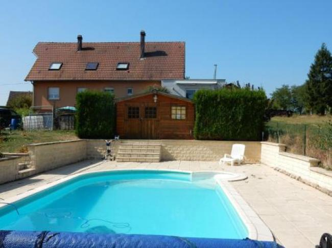 Modern holiday home in Phalsbourg with swimming pool-Apartment-Carpe-Diem-1