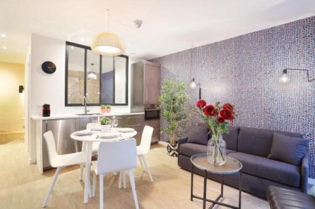 Apartment center of Paris-Apartment-center-of-Paris