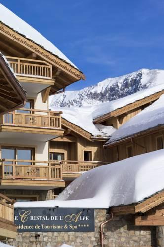 CGH Résidences & Spas Le Cristal de l'Alpe-CGH-Residences-Spas-Le-Cristal-de-l-Alpe