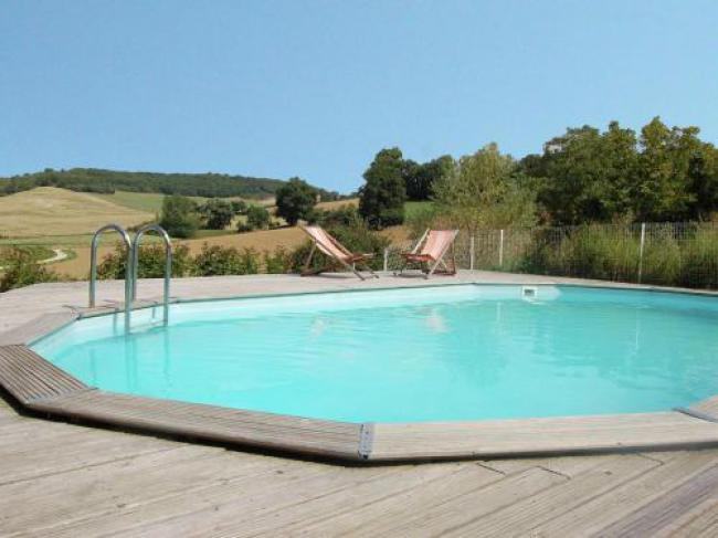 Pretty Farmhouse With Private Pool in Montadet France-Aux-Deux-Mariols