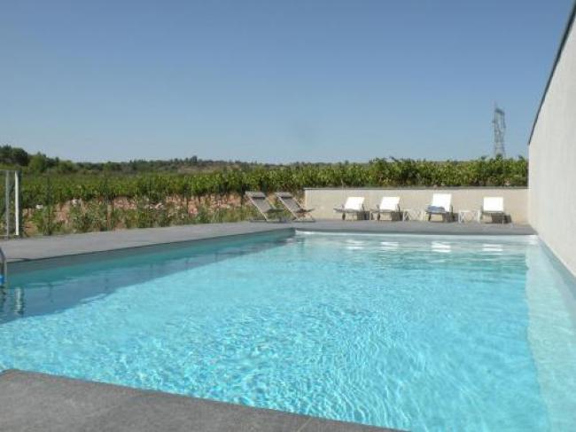 Luxury Holiday Home in Rieux-Minervois with Swimming Pool-Gite-Syrah-6-personen--Domaine-de-Mengaud