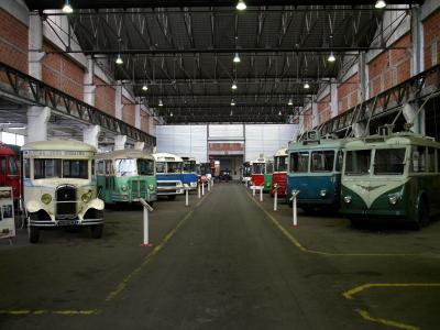 Gouvernes Musée des Transports Urbains Interurbains et Ruraux