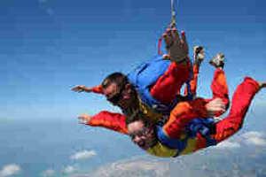 Aérodrome, Parachutisme de Molac