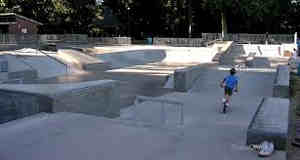 SkatePark Piste de Bicross d'Orange