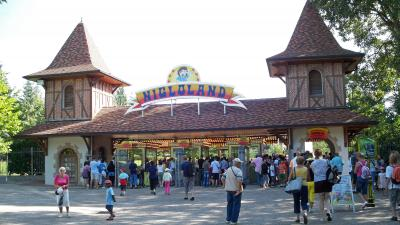 Fravaux Parc d'attractions Nigloland
