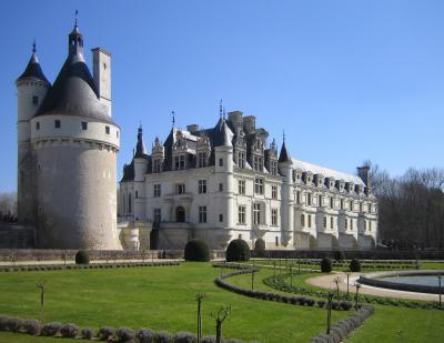 Noyers sur Cher Château de Chenonceau