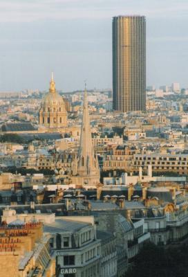 Paris 14e Arrondissement Tour Montparnasse