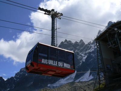 Les Contamines Montjoie Téléphérique de l'Aiguille du Midi