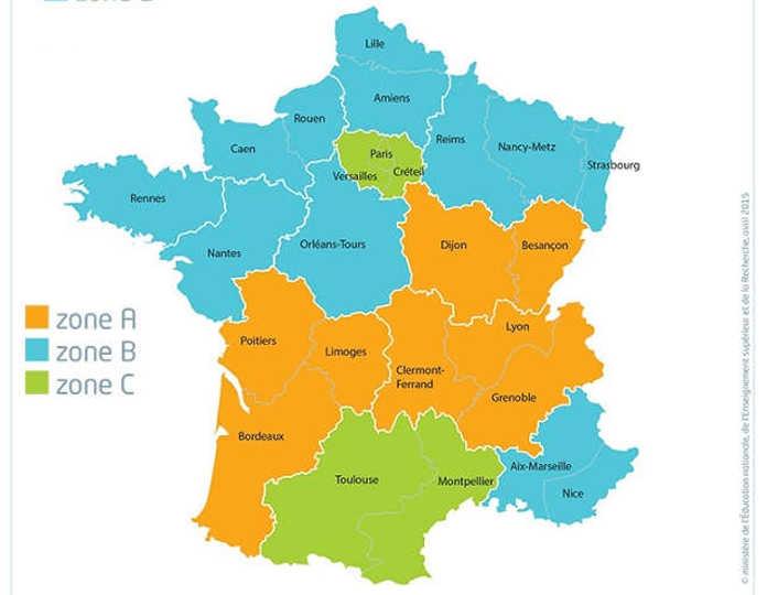 Calendrier Scolaire Bordeaux.Dates Des Vacances Scolaires Carignan De Bordeaux 33